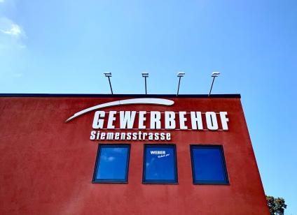WEBER GmbH Regensburg, neue Adresse Gewerbehof Siemensstraße