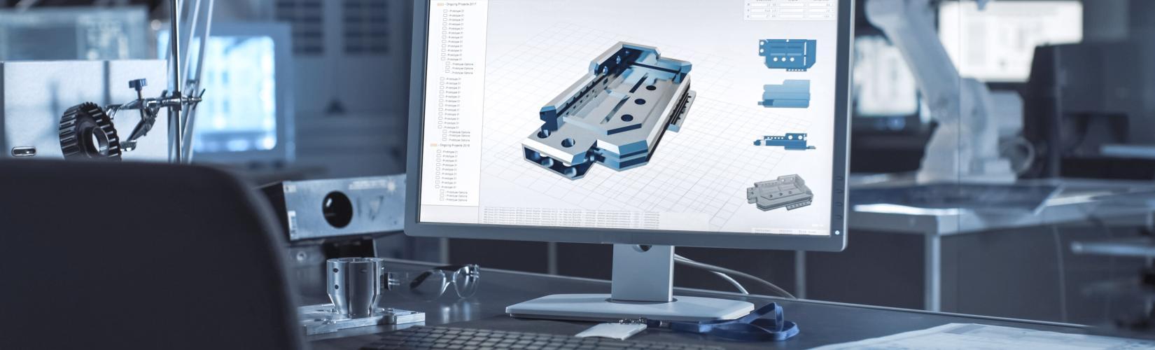 3D-CAD Bearbeitung einer Baugruppe