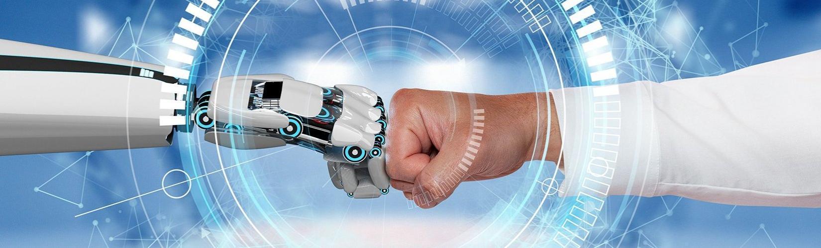 Zusammenarbeit Mensch und Roboter