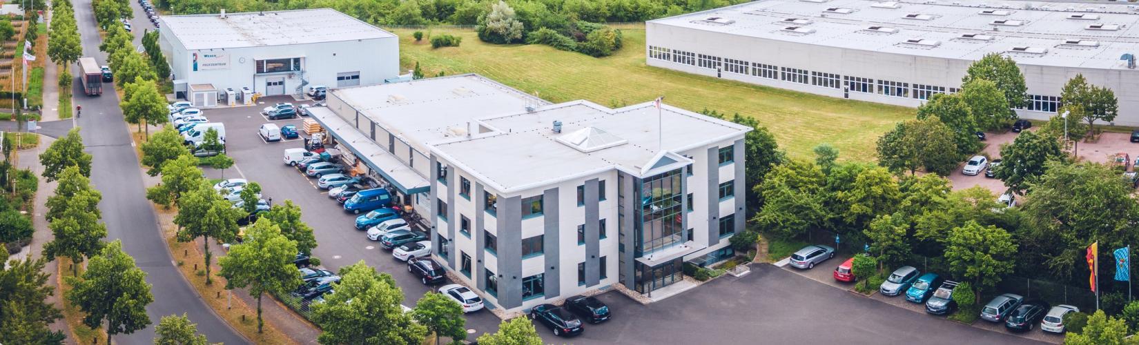 Ansicht von oben WEBER GmbH Aschaffenburg