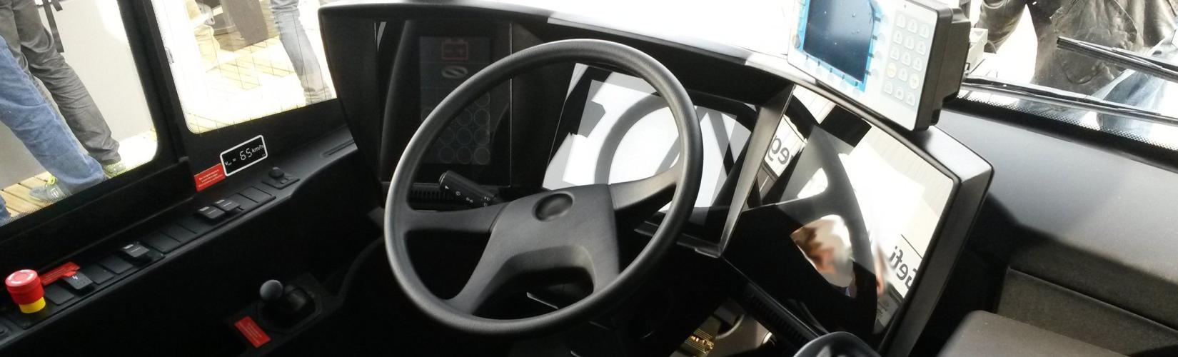 Cockpit mit neuem Design