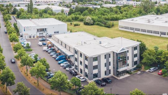 Das Firmengelände Wailandtstraße 6-8 in Aschaffenburg
