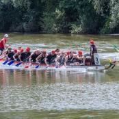 Drachenbootrennen - our team.