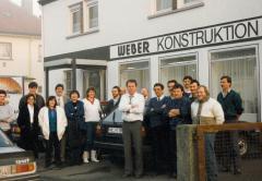 Das Team von 1979 - Weber Konstruktion