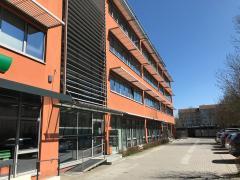 Das neue Büro in Regensburg. Aussenansicht.