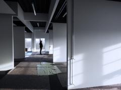 Viele helle Büroräume sind entstanden.