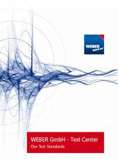 Test standards at WEBER Test Center